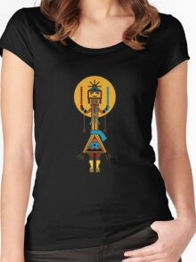 Navajo Ye'ii Women's Fitted Scoop T-Shirt