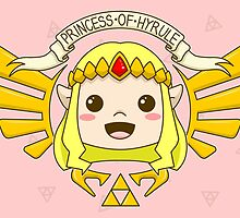 Zelda, Princess of Hyrule by TheWhaleBaby