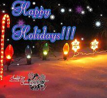 happy holidays by LoreLeft27