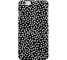 Classic Baby Polka Dots in black and white. iPhone Case/Skin