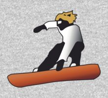 Snowboard - Snowboard jump by Richard Eijkenbroek