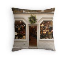 The Perfect Shopfront Throw Pillow