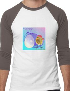 Two Scrambled Eggs - EGGsoteric Men's Baseball ¾ T-Shirt