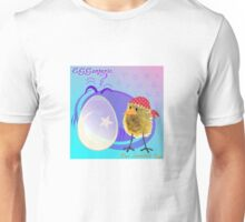 Two Scrambled Eggs - EGGsoteric Unisex T-Shirt