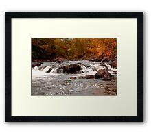 piers Gorge Framed Print