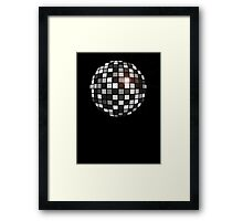 Disco Shades Of Grey Framed Print