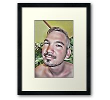 In a Childs Eyes Angle Framed Print