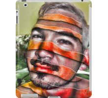 In a Childs Eyes Angle Stripes iPad Case/Skin