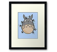 Little Totoro Framed Print
