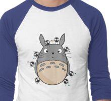 Little Totoro Men's Baseball ¾ T-Shirt