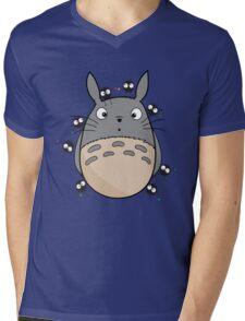 Little Totoro Mens V-Neck T-Shirt
