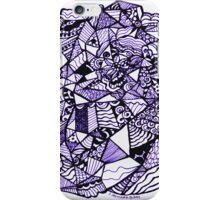 Stuff in Black and Purple iPhone Case/Skin