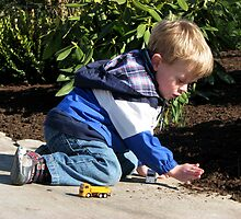 Playing Preschooler by angbet31