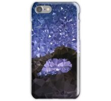 Low Poly Rock Formation iPhone Case/Skin