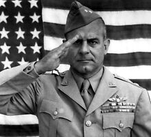 General James Doolittle Saluting by warishellstore