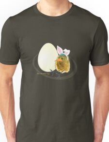 Two Scrambled Eggs - Waiting for Easter Unisex T-Shirt