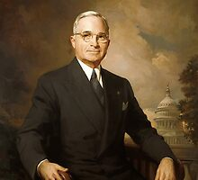 President Harry Truman by warishellstore