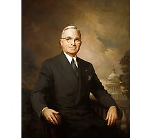 President Harry Truman Photographic Print