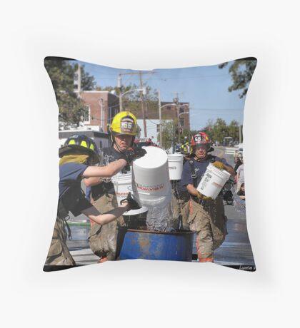 Old Town Riverfest 17 Throw Pillow
