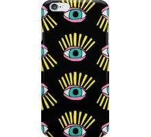 Have My Eye On You (Black) iPhone Case/Skin