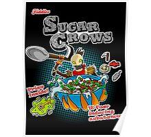 Sugar Crows Cereal Poster