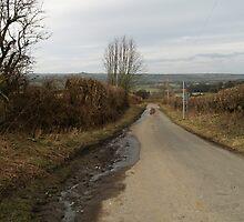 Mud On Road by WatscapePhoto