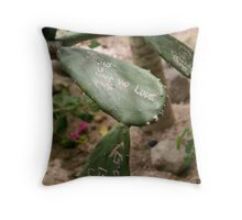 scribe Throw Pillow