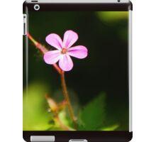 Tiny Pink Wild Flower iPad Case/Skin