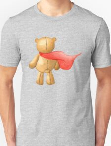 Watercolor Super Teddy Illustration T-Shirt