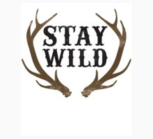 Stay Wild One Piece - Short Sleeve