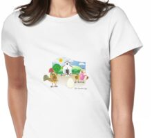 Two Scrambled Eggs - Family Album 1 Womens Fitted T-Shirt