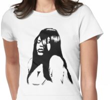 R.I.P Aaliyah Womens Fitted T-Shirt