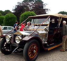 1910 Rolls Royce Siver Ghost by oulgundog