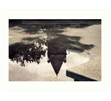 Time in a Puddle Art Print