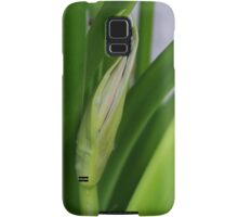 Daylily Scape Starting to Open Samsung Galaxy Case/Skin