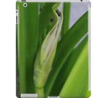 Daylily Scape Starting to Open iPad Case/Skin