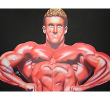 Six Time Mr. Olympia Dorian Yates Photographic Print