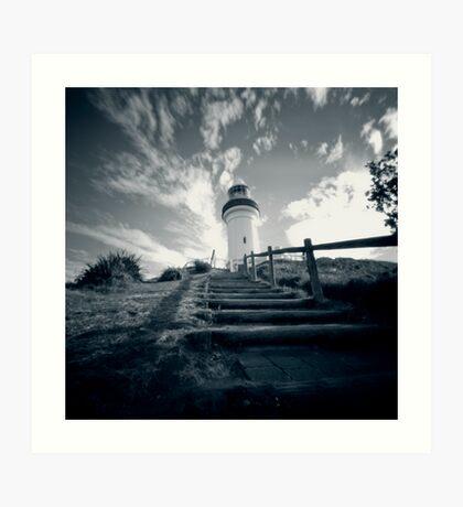 Byron Bay lighthouse - pinhole Art Print