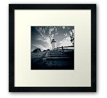 Byron Bay lighthouse - pinhole Framed Print