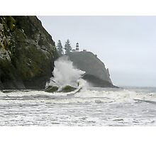 Cape Disappointment, The Wave Photographic Print