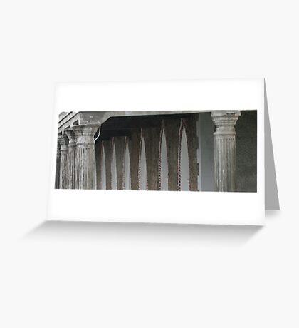 Pillar Greeting Card