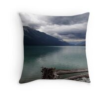 Moods of Mountain Weather Throw Pillow
