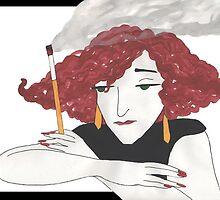 Colette Coquette by redqueenself