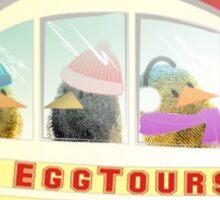 Two Scrambled Eggs - EGGscursion Sticker