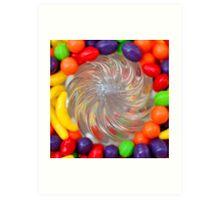 Candy Juicer Art Print