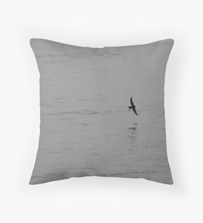 Lone Flight Throw Pillow