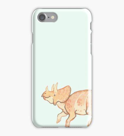 teensy triceratops iPhone Case/Skin
