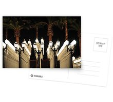 Palm Trees and Lamp Posts Postcards