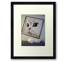 Sleeping Beside Myself Framed Print