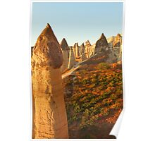 Valley of Love, Goreme, Turkey Poster